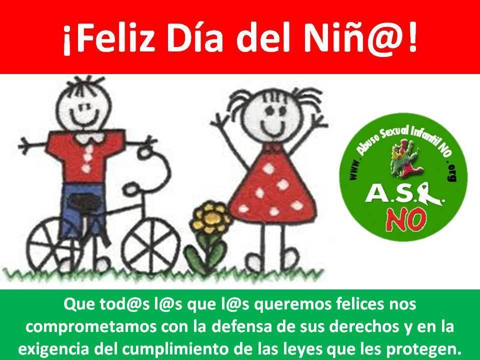 """Afiche """"Día de la niñez"""""""