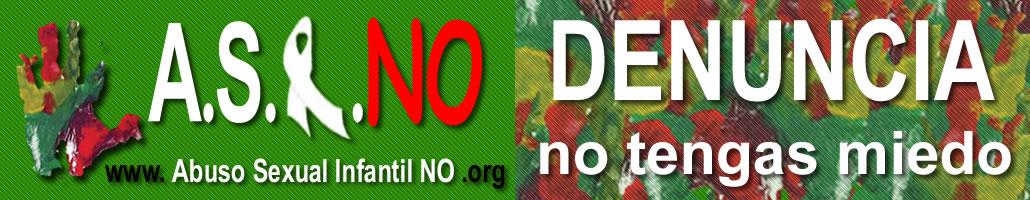 Banner ASI NO Abuso Sexual Infantil NO